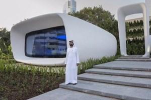 Dünyanın ilk 3 boyutlu ofis binası Dubai'de açıldı