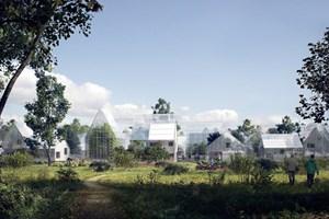 Hollanda'da geleceğin köyü kuruluyor