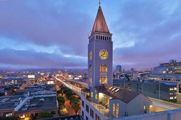 San Francisco'daki saat kulesine 8.5 milyon dolarlık ev yaptılar