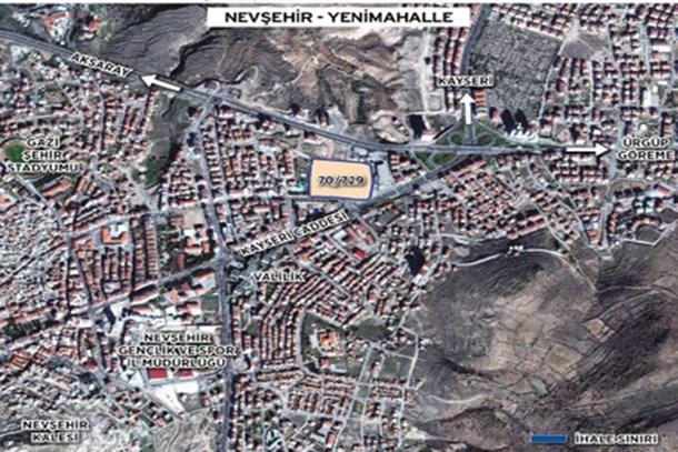 Emlak Konut GYO'nun Nevşehir ihalesine 16 firma teklif verdi