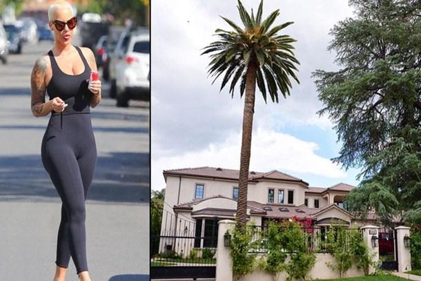 Dünyaca ünlü model Amber Rose tüm servetini evine yatırdı