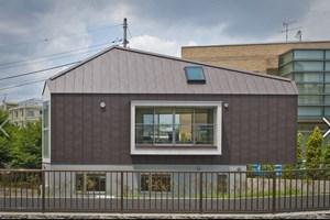 Tokyo'da 29 metrekarelik ev inşa edildi