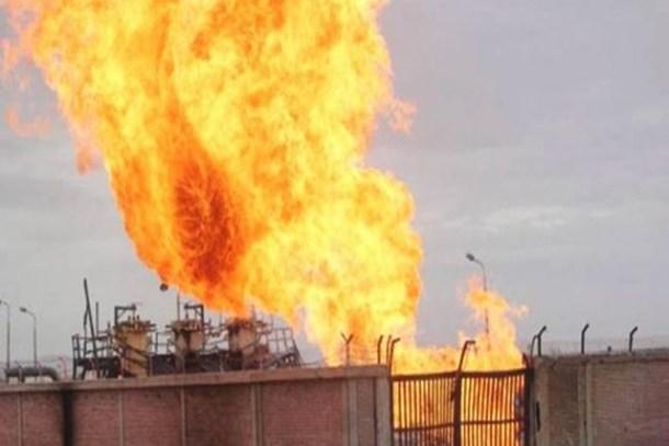 İran petrokimya tesisinde yangın çıktı!
