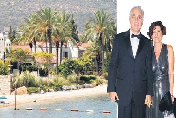 Ünlü işadamı 22 odalı oteli yazlık ev yaptı