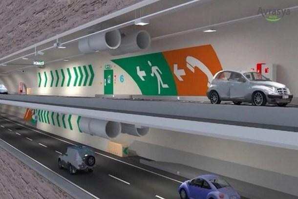 İstanbul trafiğine ikinci çözüm Avrasya Tüneli