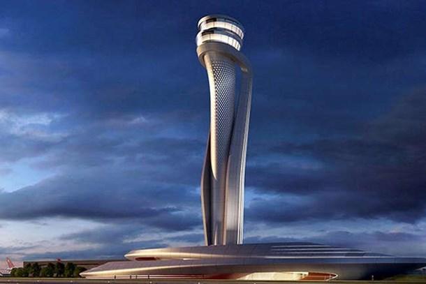 3. Havalimanı'nın kulesine uluslararası ödül