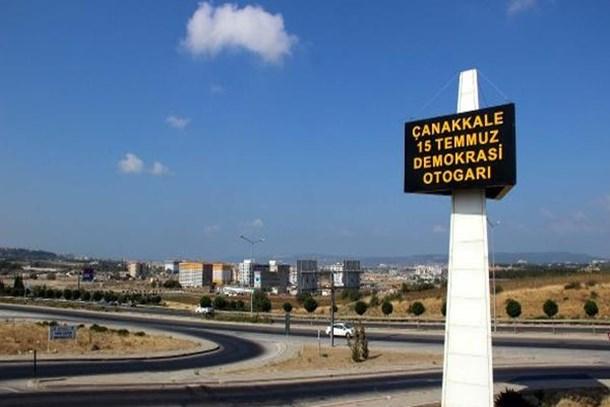 Çanakkale Otogarı'nın adı Çanakkale 15 Temmuz Demokrasi Otogarı oldu