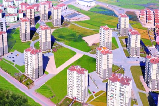 TOKİ'den Aksaray'a 807 konutluk yeni proje