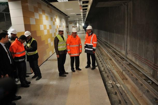Başbakan açıkladı: Keçiören metrosunun ilk durağı Şehitler İstasyonu oldu