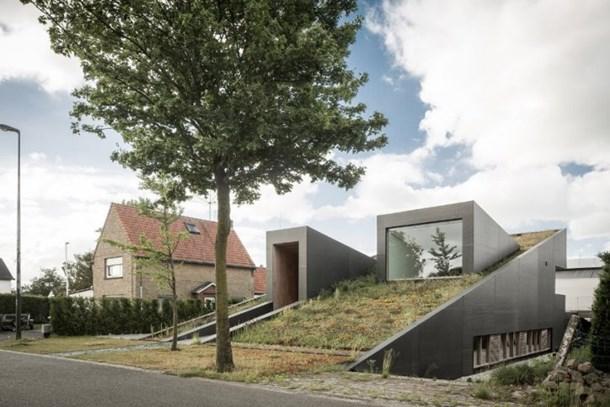 Belçika'da yapılan yeraltı evi