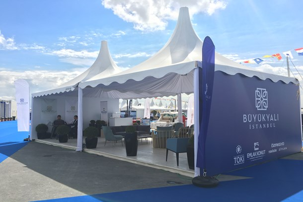 Büyükyalı CNR Avrasya Boat Show'da deniz tutkunlarını bekliyor
