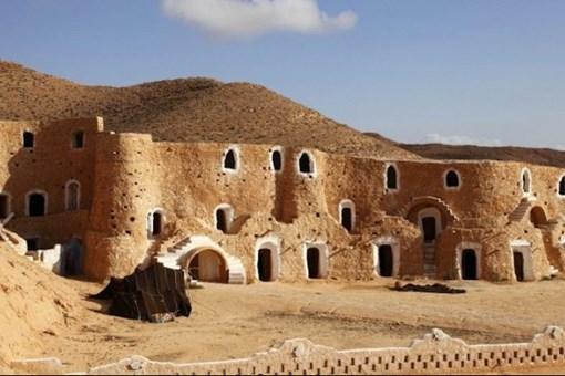 Çöl altına inşa edilen köy: Matmata