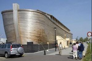 Kutsal kitaplara konu olan Nuh'un Gemisi inşa edildi