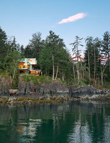 Gambier Adalarında bulunan en güzel dağ evleri belli oldu. İşte en güzel dağ evleri... Gambier...