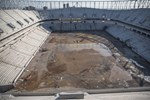 Yeni Adana Stadı'nın inşasında 300 işçi çalışıyor