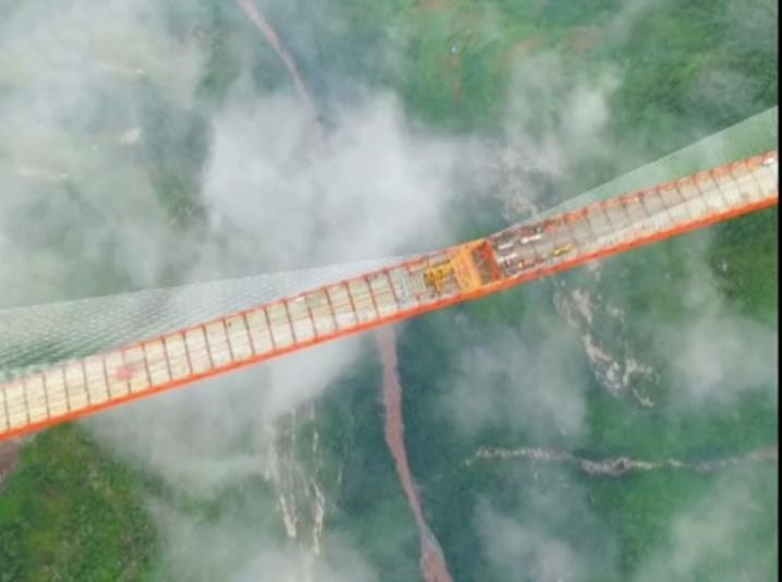 140 milyon dolara mal olduğu belirtilen köprünün manzarası da görenleri büyüledi. Eylül ayında...