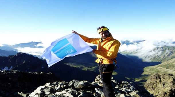 Zirvelerin dağcısı Tunç Fındık İGA ileTürk bayrağını göklere çıkaracak