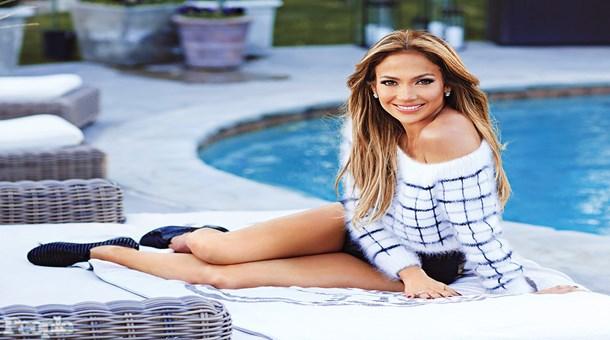 İşte Jennifer Lopez'in milyonluk çatı katı!