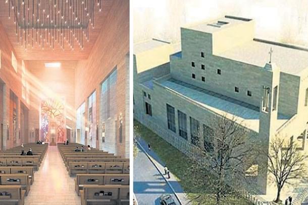 İlk kilise inşaatı Vatikan'dan onay bekliyor