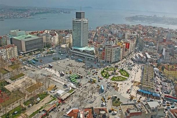 Taksim'de 15.5 milyon dolara satılık bina!