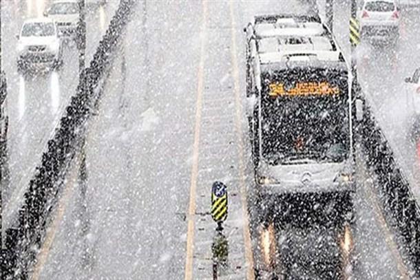 AKOM'dan İstanbullulara uyarı! Perşembe kar geliyor