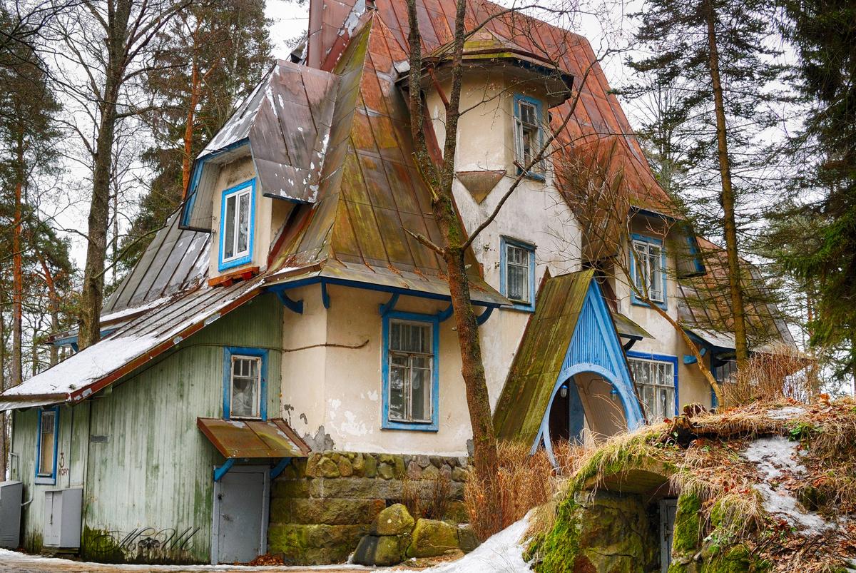 Bu ev fotoğraflarında görülenlerin bazı gerçekten masallarda olan masal evleri. Diğerleri ise...