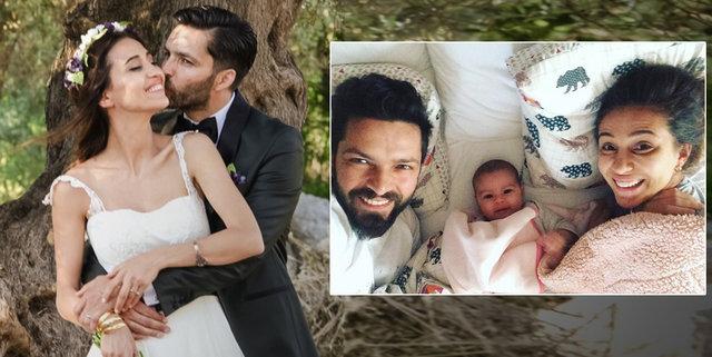 Aşk-ı Memnu dizisi ile yıldızı parlayan oyuncu İlker Kızmaz bir süre önce dünyaya gelen kızının...