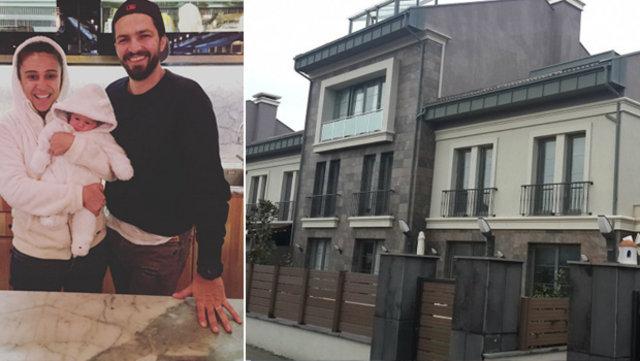 Uskumruköy'de 350 m2'lik lüks bir villaya taşınan çift, yeni evleri için 1 milyon 350 bin TL ödedi.