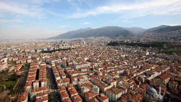 Hürriyet'ten Gülistan Alagöz'ün haberine göre, en çok değerlenen ilçe ise Bursa'nın Yıldırım ilçesi...