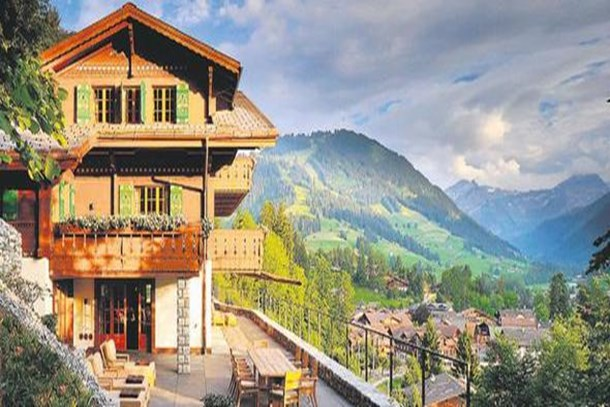 İşte o ünlünün 4 milyon dolarlık dağ evi