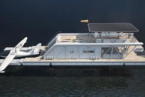 Bu elektrikli tekne adeta yüzen bir ev