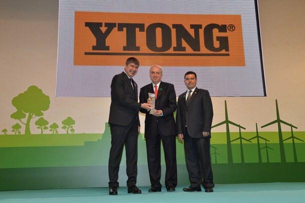 Türk Ytong'a çevreci tesis ödülü!