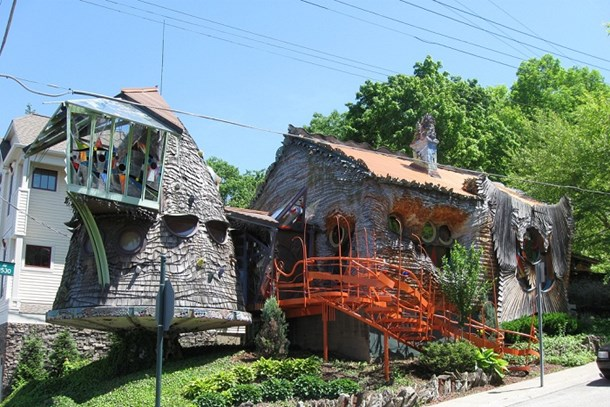 Bu evlerden daha ilginci dünyada yok!