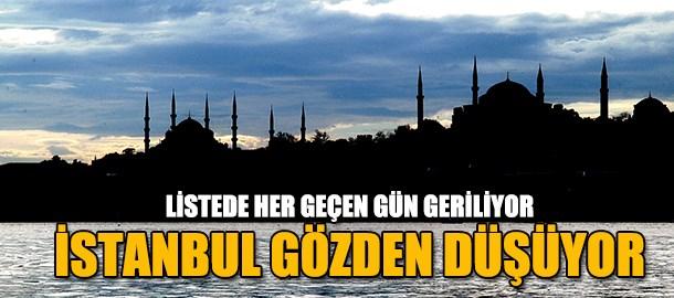 İstanbul gözden düştü! Listede her geçen gün geriliyor