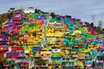 Graffiti ustaları 209 evi sanat eserine çevirdiler!