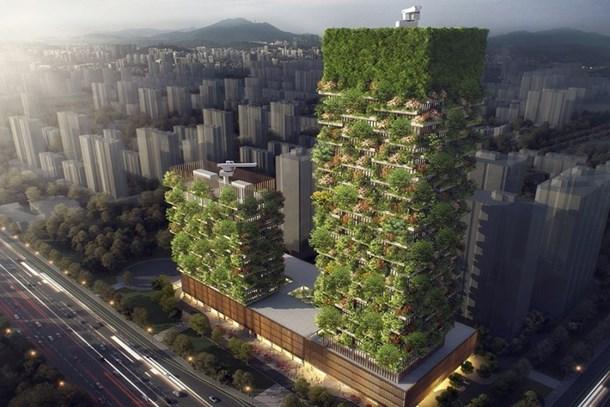 Çin'in Orman Kuleleri'nin inşaatı bu yıl başlayacak