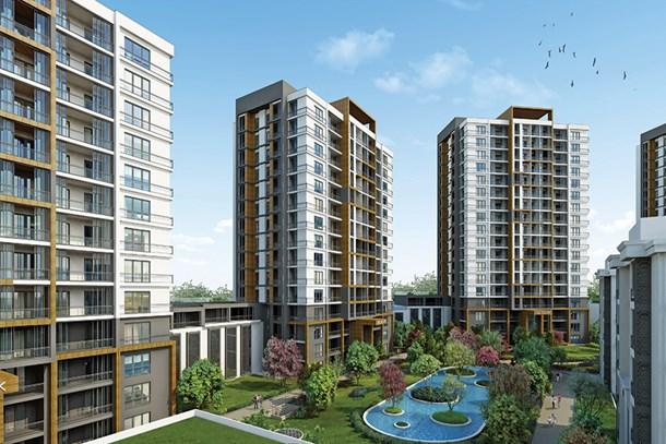 Kiptaş'tan Bahçeşehir'e Vaditepe Bahçeşehir projesi