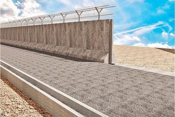 Suriye sınırına inşa edilen duvarın yarısı tamamlandı!