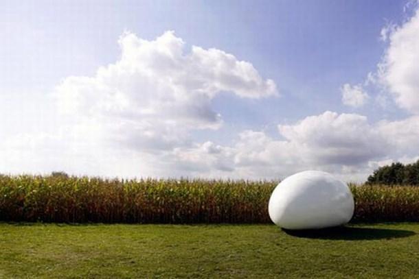 Belçika'ya gidenler yumurta eve hayran kalıyor!