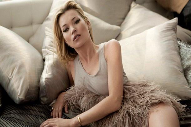 Ünlü model Kate Moss masal evine taşındı