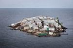 Victoria Gölü'nün ortasında bulunan bu ada dünyanın en kalabalık adası!