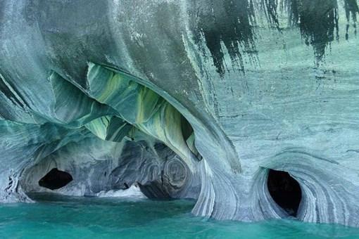 İşte muhteşem mermer mağaraları