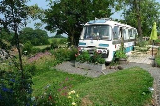 Eski otobüs muhteşem bir eve dönüştü!