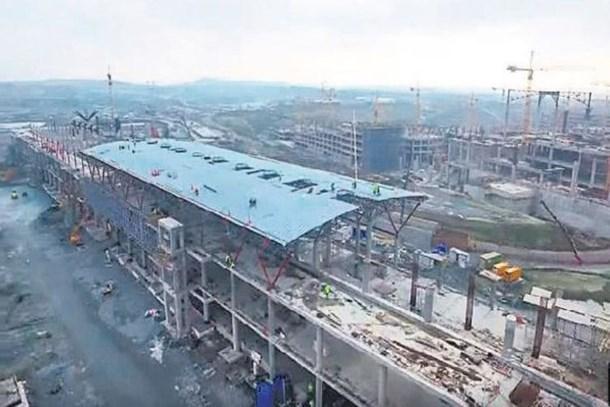 Üçüncü Havalimanı inşaatı sona yaklaşıyor!