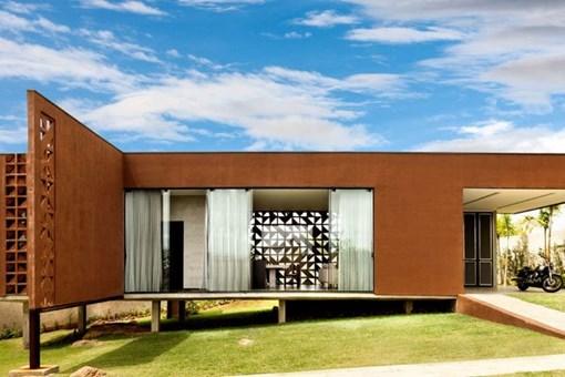 İşte beton bloklarıyla tasarlanan muhteşem ev