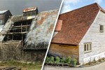 400 yıllık ahır mükemmel bir eve dönüştürüldü