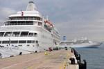 Kuşadası Ege Ports Limanı'na turist akını! 4 bin 237 turist geldi