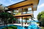 Singapur'da doğa ile bütünleşen sahil ev!