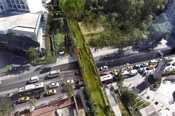 Taksim ve Maçka parkı arasına ekolojik köprü!