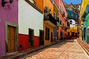 Dünyanın renkli sokakları